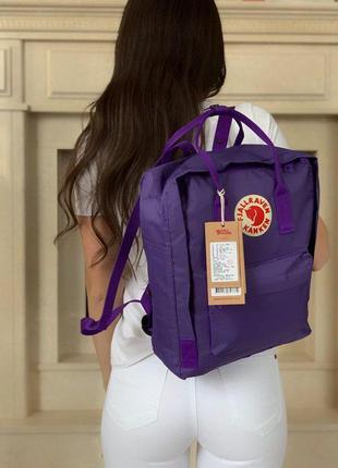 Красивый и удобный женский рюкзак fjallraven kanken classic в ...