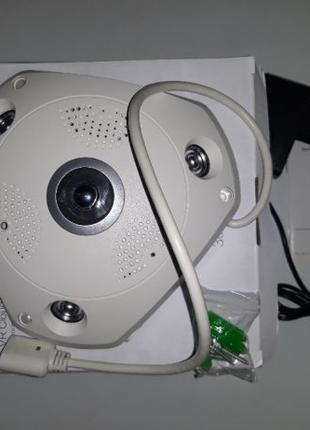 Камера IP 3d панорамна wifi + sd карта запис