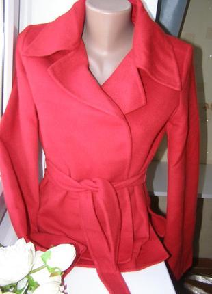Max mara пальто-пиджак  деми 80% шерсть 20% ангора s-m-размер....