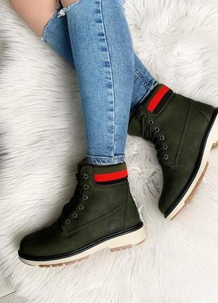Стильные ботиночки хаки