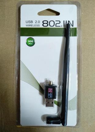 USB Wi-Fi Адаптер Для Тюнеров Т2|MAG255 и Компьютеров 900 Mbps 80