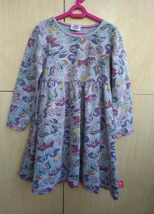 Платье my little pony на 5-6 лет