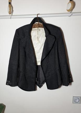 Marithe francois girbaud дизайнерский пиджак италия