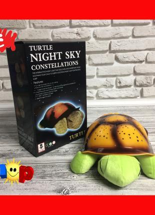 Ночник черепаха Turtle, проектор звездного неба
