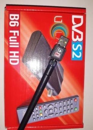 U2C IPTV приставка + wifi адаптер + Супутниковий тюнер