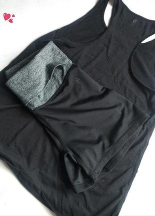 Комплект h&m спортивный шорты+майка,одежда для фитнеса