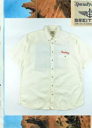 BREITLING винтаж мужская рубашка