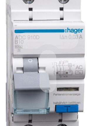 HAGER ADC910D ДифАвтомат