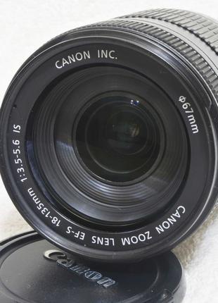 Canon EF-S 18-135 mm  f/ 3.5-5.6 IS STM (не 17-85 USM Sigma)