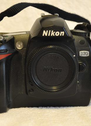 Nikon D70 BODY цифровой фотоаппарат