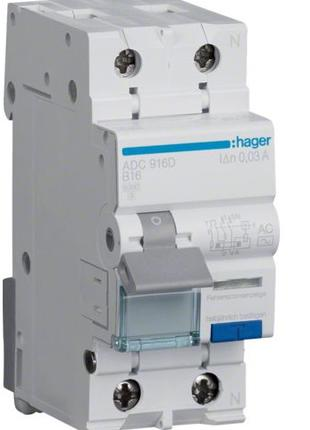 HAGER ADC916D ДифАвтомат
