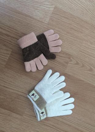 Набор рукавички на 2-3 года