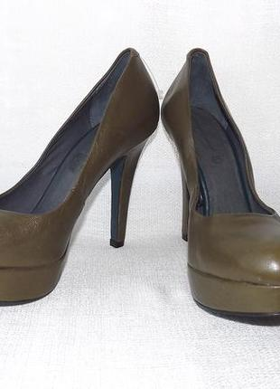 Туфли лабутены кожа натуральная roberto santi 40р. 26 стелька