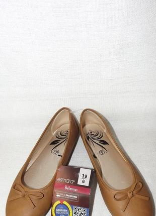 Балетки туфли низкий ход esmara 39 размер 25 стелька