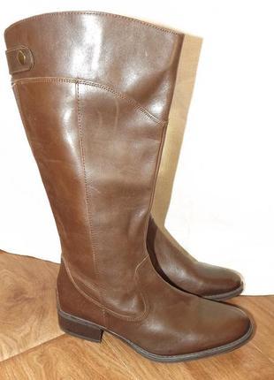 Сапоги orchard кожаные коричневые 39 размер