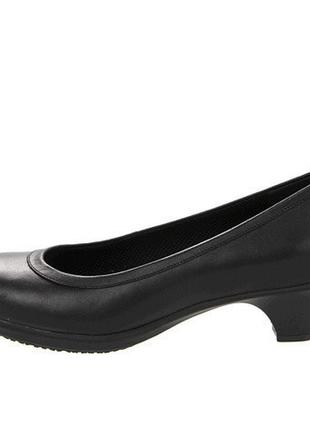 Кожаные туфли crocs (оригинал) 22,5 стелька