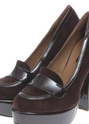 Туфли коричневые ana lublin