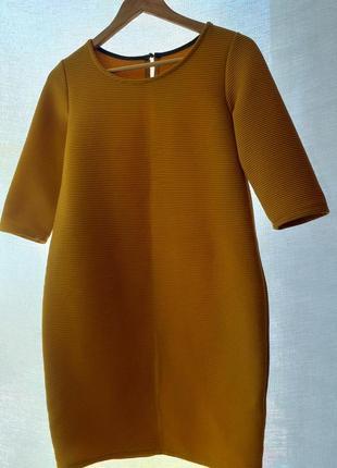Платье горчичное  м - л jeremy