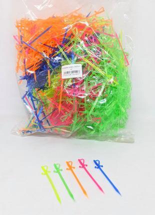 Шпажки пластмассовые для фруктов 1000шт/уп