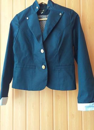 Пиджак v&m синий 44-46 размер