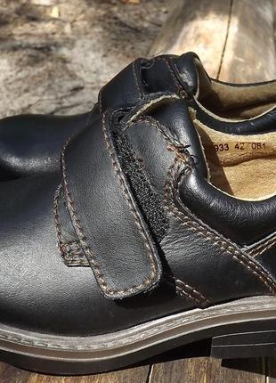 Туфли ботинки кожаные andre 27 р.
