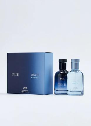 Набор Zara Night pour homme II Night pour homme II summer