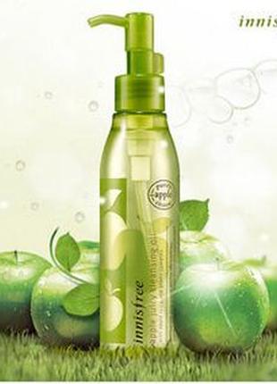 Гидрофильное масло для лица с экстрактом яблока Innisfree Apple