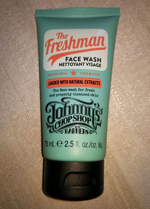 Johnnys Chopshop The Freshman Face Wash .  Гель для умывания 75 м