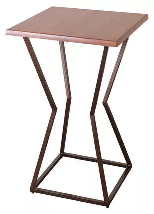 Стіл для барів та кафе з верзалітовою стільницею (700х700 мм) Х-п