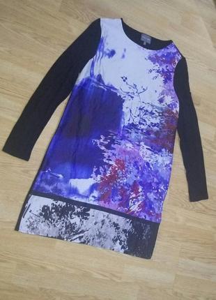 Красивое платье,длинный рукав.