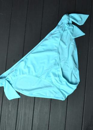 Нежно-голубые плавки на завязках от by very размер 24uk
