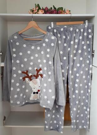 Плюшевая пижама george