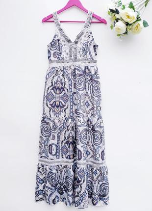 Шикарное платье в пол платье сарафан длинное платье летнее платье
