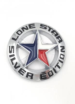 Автологотип шильдик эмблема Dodge Ram Lone Star Silver Edition...