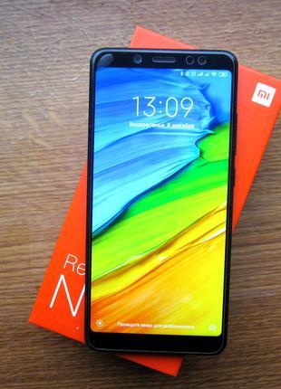 Xiaomi Redmi Note 5 Global 4/64 Black в отличном состоянии!
