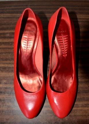 Кожаные туфли bronx, 39 размер