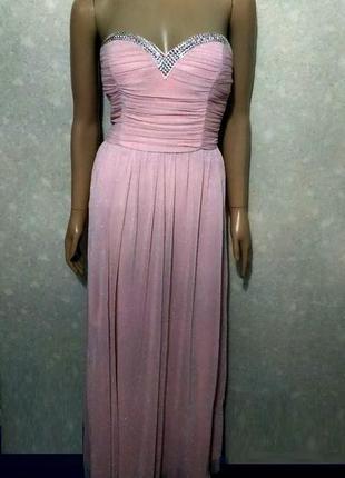 Вечернее нежное платье
