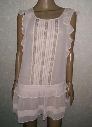 Шифоновое платье, туника