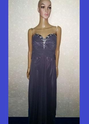 Дизайнерское вечернее платье, большой размер