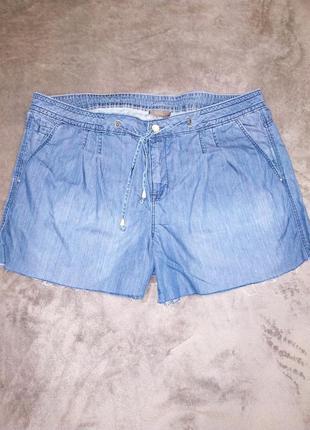 Шорты джинсовые, большой размер