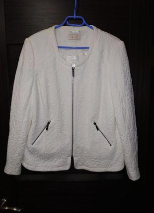 Элегантный кардиган, жакет, куртка, пиджак, большой размер