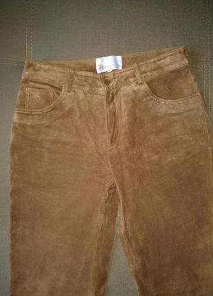 Замшевые штаны, брюки, джинсы