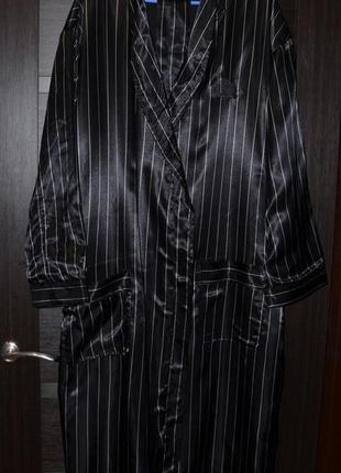 Длинный халат (теплый), очень большой размер