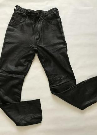 Кожаные штаны, джинсы, брюки