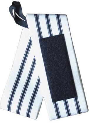 METAL TRIPLE Black Line - кистевые бинты, с тремя полосками, сред