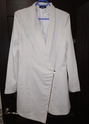 Стильный кардиган, пиджак удлиненный
