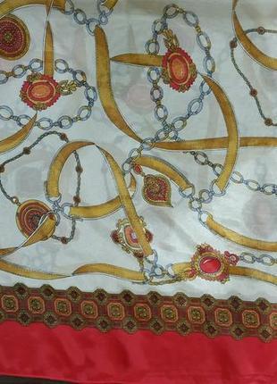 Шифоновый большой платок