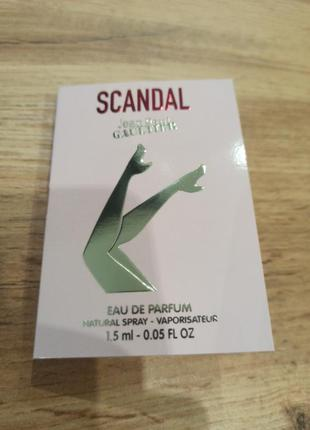 Jean paul gaultier scandal парфюмированная вода