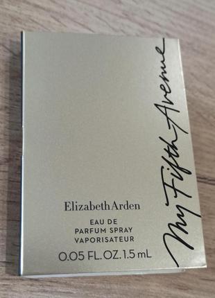 Elizabeth arden my fifth avenue парфюмированная вода