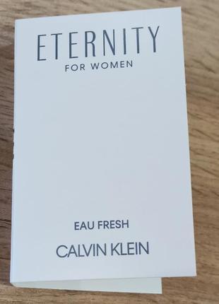 Calvin klein eternity for woman eau fresh парфюмированная вода
